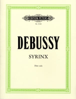 DEBUSSY - Syrinx - Solo flute - Sheet Music - di-arezzo.co.uk