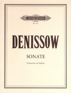 Edison Denisov - Sonate für Violoncello und Klavier - Partition - di-arezzo.fr
