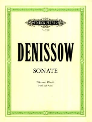 Edison Denisov - Sonate - Flöte Klavier - Sheet Music - di-arezzo.com
