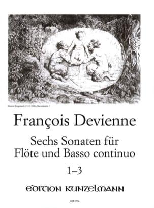 François Devienne - 6Flötensonaten - 1〜3番 - Flöteu。 BC - 楽譜 - di-arezzo.jp