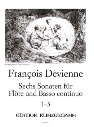 6 Flötensonaten - Nr. 1-3 - Flöte u. Bc DEVIENNE laflutedepan