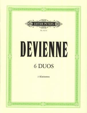 François Devienne - 6 Duos - 2 Klarinetten - Partition - di-arezzo.fr