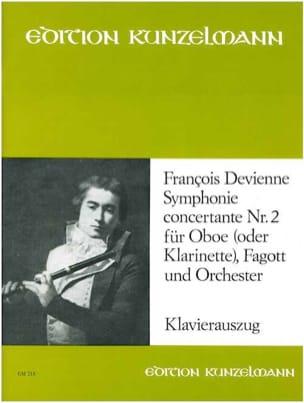 Symphonie concertante n° 2 - Oboe o. Klarinette Fagott Klavier laflutedepan