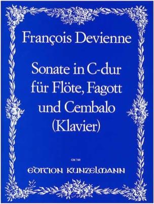 François Devienne - Sonate C-Dur - Flöte Fagott Cembalo - Partition - di-arezzo.fr