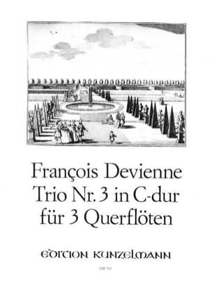 Trio Nr. 3 in C-Dur – 3 Flöten - François Devienne - laflutedepan.com