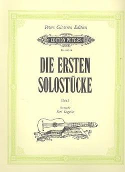 René Kappeler - Die ersten Solostücke –Heft 2 - Partition - di-arezzo.fr