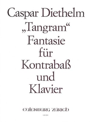 Caspar Diethelm - Tangram Fantasie op. 149 - Partition - di-arezzo.fr