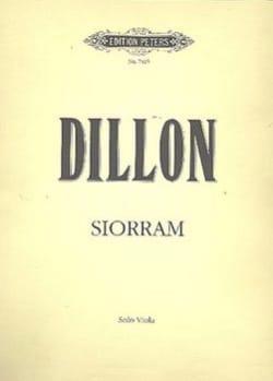 James Dillon - Siorram - Partition - di-arezzo.fr