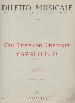 Cassatio in D – 4 Flöten - laflutedepan.com