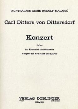 Carl Ditters von Dittersdorf - Konzert in D - Sheet Music - di-arezzo.co.uk