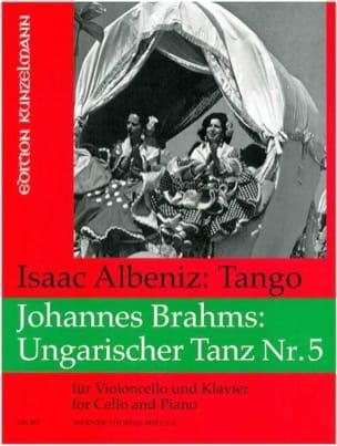 Albeniz Isaac / Brahms Johannes - Tango / Danse hongroise n° 5 - Partition - di-arezzo.fr