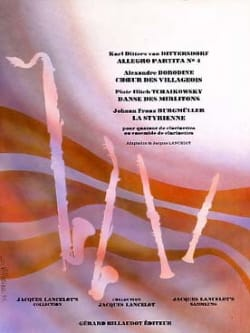 - Allegro Partita n ° 4 / Choir of the villagers / Dance of the ... - Sheet Music - di-arezzo.com