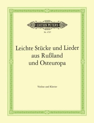 V. Baeder-Bederski-Anteda - Leichte Stücke und Lieder aus Russland und Osteuropa - Sheet Music - di-arezzo.com