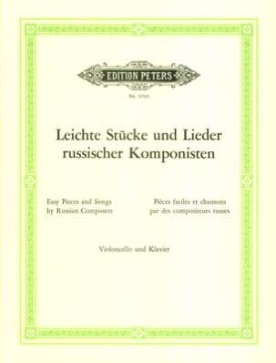 Linde Doris / Linde Hans-Peter - Leichte Stücke und Lieder russisscher Komponisten - Partitura - di-arezzo.es