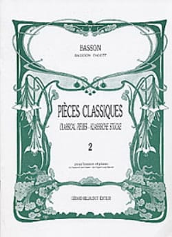 - Classic Volume 2 pieces - bassoon - Sheet Music - di-arezzo.com