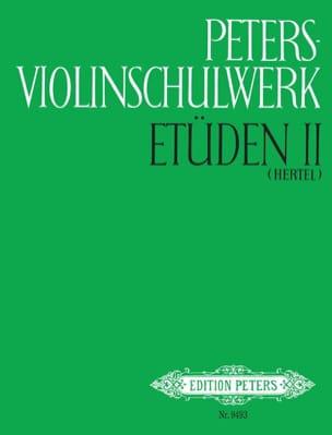 Hertel Klaus / Thiemann Ulfert - Peters Violinschulwerk - Etüden Bd. 2 - Noten - di-arezzo.de