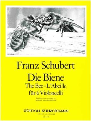 Die Biene - 6 Violoncelli SCHUBERT Partition laflutedepan