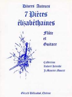 7 Pièces élizabéthaines - Partition - Duos - laflutedepan.com