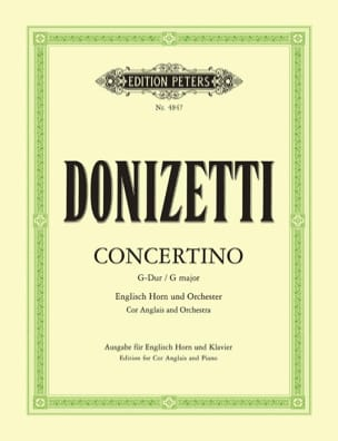 Gaetano Donizetti - Concertino G-Dur - Horn Horn - Sheet Music - di-arezzo.co.uk