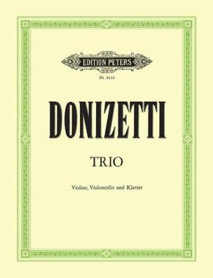 Trio –Violine Cello Klavier - Gaetano Donizetti - laflutedepan.com