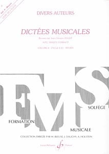 Jean Clément Jollet - Musical dictates - Volume 4 - Student - Partition - di-arezzo.co.uk