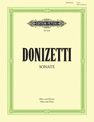 Gaetano Donizetti - Sonata for Oboe and Piano - Sheet Music - di-arezzo.co.uk