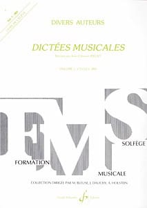 Jean-Clément Jollet - Musical dictates - Volume 1 - Student - Sheet Music - di-arezzo.co.uk