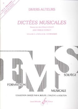 Jean Clément Jollet - Musical dictates - Volume 3 - Student - Partition - di-arezzo.co.uk
