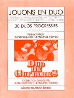 Horreaux Jean / Tréhard Jean-Marie - Giochiamo a duetto: 30 duetti progressivi - Partitura - di-arezzo.it