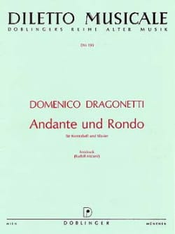 Domenico Dragonetti - Andante und Rondo D-Dur - Sheet Music - di-arezzo.co.uk