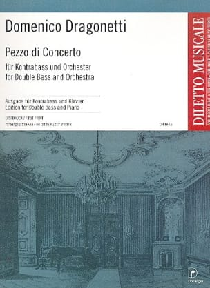 Pezzo di Concerto Domenico Dragonetti Partition laflutedepan