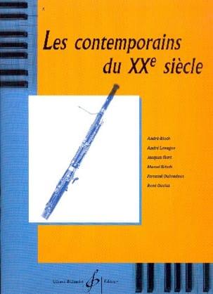 - Los contemporáneos del siglo XX - Fagot - Partitura - di-arezzo.es