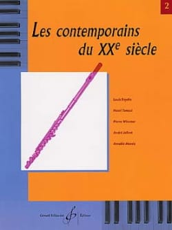 Les Contemporains du 20° siècle Volume 2 - Flûte - laflutedepan.com
