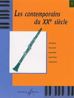 - The contemporaries of the 20th century - Volume 1 - Sheet Music - di-arezzo.com