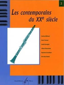 - Les contemporains du 20ème s. - Volume 2 - Partition - di-arezzo.fr
