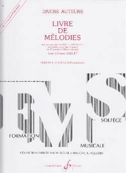 Jean-Clément Jollet - Book of Melodies Volume 3 - Preparatory - Sheet Music - di-arezzo.co.uk