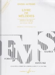 Jean-Clément Jollet - 第4巻Melodies Book - Elementary - 楽譜 - di-arezzo.jp
