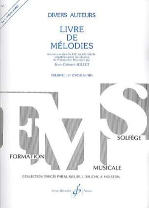 Jean-Clément Jollet - Book of Melodies Volume 1 - Im2 - Sheet Music - di-arezzo.com