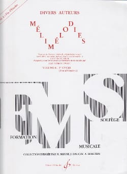 Jean-Clément Jollet - Melimelodies - Volume 6 - End of studies - Sheet Music - di-arezzo.co.uk