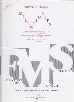 Jean-Clément Jollet - Melimelodies - Volume 5 - Medium - Sheet Music - di-arezzo.co.uk