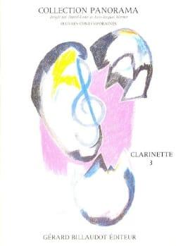 Panorama - Clarinette volume 3 - Partition - laflutedepan.com