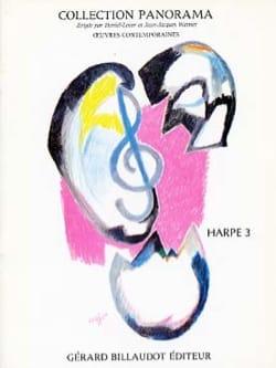 Panorama Harpe - Volume 3 - Partition - Harpe - laflutedepan.com