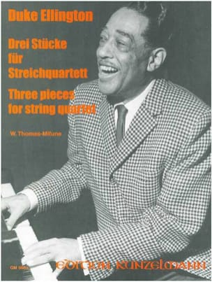 Duke Ellington - 3 Pieces for Quartet String - Score Parts - Sheet Music - di-arezzo.co.uk