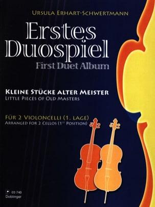 Ursula Erhart-Schwertmann - Erstes Duospiel - Partition - di-arezzo.fr