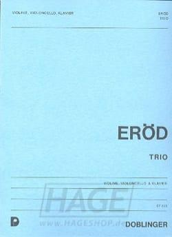 Ivan Eröd - 1. Klaviertrio op. 21 - Sheet Music - di-arezzo.com