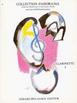 Panorama - Clarinette - Volume 1 Partition Clarinette - laflutedepan