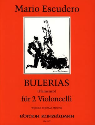 Mario Escudero - Bulerias Flamenco - Partition - di-arezzo.fr