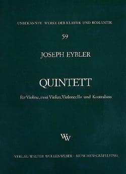 Joseph Eybler - Streichquintett –Stimmen - Partition - di-arezzo.fr