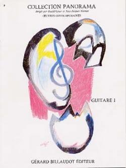 - Panorama de la Guitare Volume 1 - Partition - di-arezzo.fr
