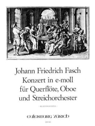 Johann Friedrich Fasch - Konzert e-moll - Floe Oboe Klavier - Sheet Music - di-arezzo.com